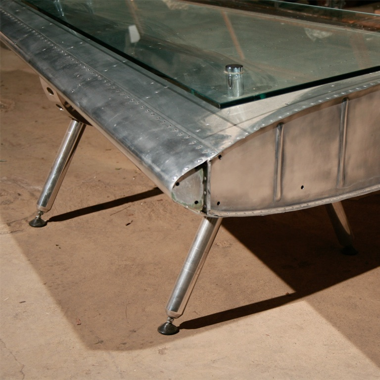 Airplane Fin Coffee Table