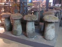 Matched Set of 14 Staddle Stones