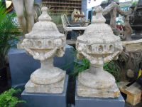 Pair of Austin & Seeley Finials