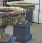 Unusually Large Pair of Handyside Urns
