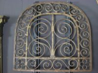 Pair of English Wrought Iron Grills