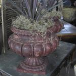 Pair of French Lobed Urns