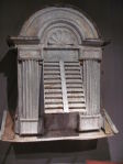 19th Century French Louvered Window