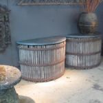 Pair of Cider Press Consoles