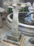 English Reconstituted Stone Bird Bath