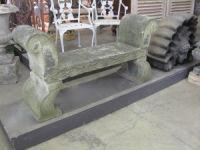 English Bath Stone Garden Seat