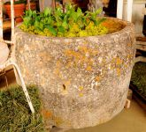Antique Round Stone Trough