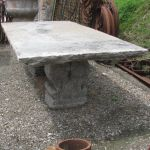 Large Italian Stone Table