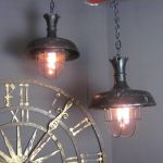 French Iron Industrial Lights