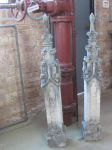 Pair of French Crocketed Limestone Finials