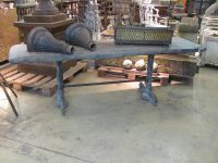 Large French Slate Top Table