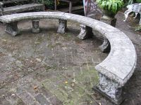 Curved English Bench