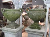 Pair of Mid-19th Century Urns by Pulham