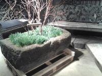 Rustic English Yorkstone Trough