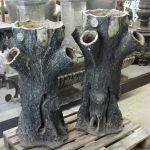 Scottish  Tree Form Planters