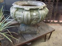 English Reconstituted Stone Urn