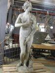 Carved Stone Statue of the Venus de Medici