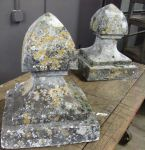 Pair of 19th Century French Limestone Finials