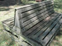 English Double Sided Bench