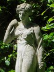 Lovely  Statue of A Young Woman