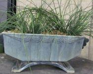 Enameled Art Deco Jardiniere