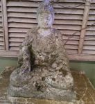 English Reconstituted Stone Buddah