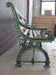 English Victorian Cast Iron Bench