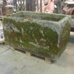 Large 18th Century English Stone Trough