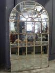 Cast Iron Window Frame Mirror