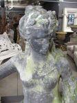 English 19th Century Lead Statue