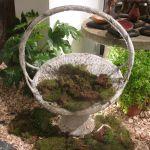 French Compostion Stone Basket Jardiniere