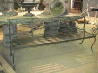 Scottish Wrought Iron Garden Seat