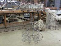 Tall French Wirework Jardiniere