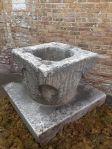 Large Early Italian Wellhead